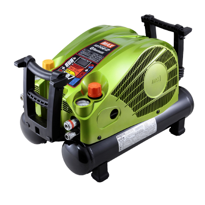 マックス エアコンプレッサー [ AK-HL1270E2 (ブライトグリーン) ] 高圧/常圧 11L45気圧 限定色