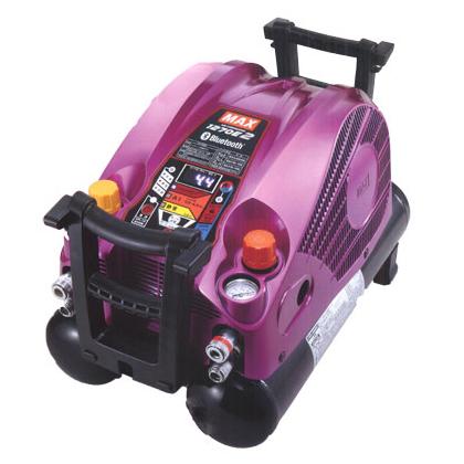 マックス エアコンプレッサー [ AK-HL1270E2 (ブライトマゼンタ) ] 高圧/常圧 11L45気圧 限定色
