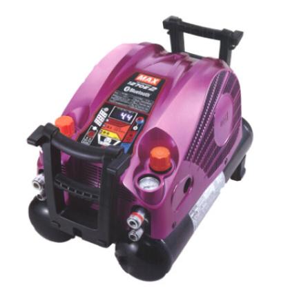 マックス エアコンプレッサー [ AK-HH1270E2 (ブライトマゼンタ) ] 高圧/高圧 11L45気圧 限定色
