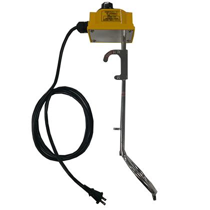 新光電気 手元スイッチ付き投込み湯沸かし器(大)ロングタイプ [ SHS-1L ] サーモ付 ダイヤル温度調整付