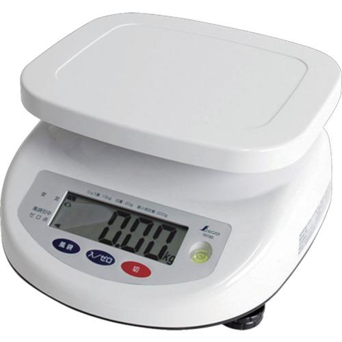 【シンワ測定】 デジタル 上皿はかり 取引証明用 15kg 《70193》