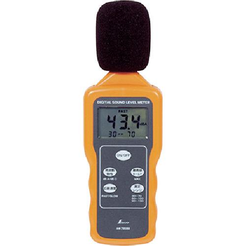 シンワ測定  デジタル騒音計  78588 最高値ホールド機能付