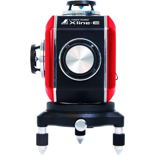 【 開梱 設置?無料 】 X 71609 line-E ]:道具屋 利作 [ フルライン・地墨クロス シンワ測定 レッド レーザーロボ-DIY・工具
