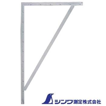 【シンワ測定】筋交付大金 ステン《63121》1m×60cm表裏同目