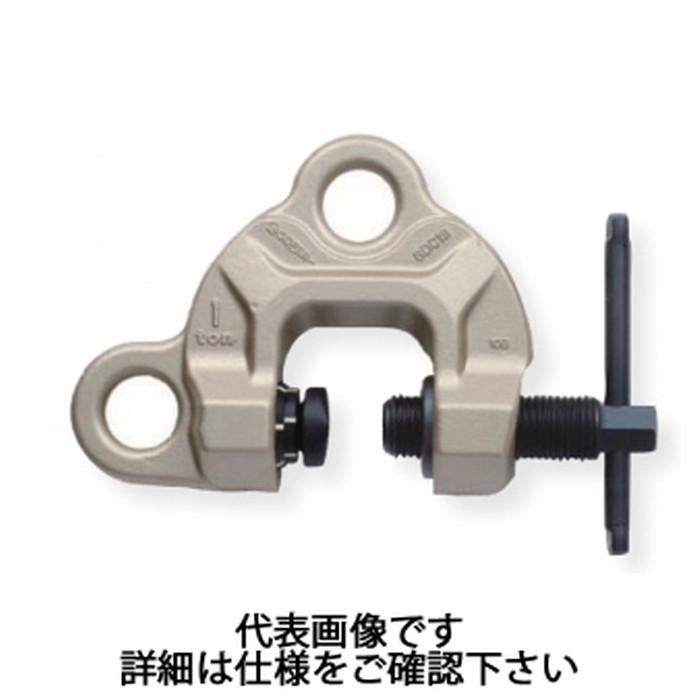 スーパーツール | スクリューカムクランプ(ダブル・アイ型)ツイストカム式 容量0.5t クランプ範囲0~25mm [ SDC0.5S ] | SUPERTOOL