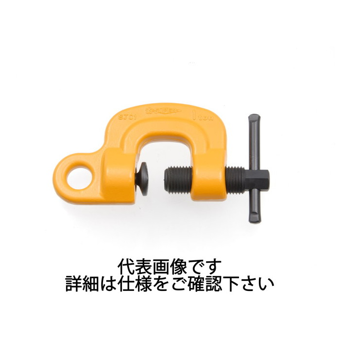 スーパーツール | スクリューカムクランプJ型 容量1t クランプ範囲0~40mm [ SJC1 ] | SUPERTOOL