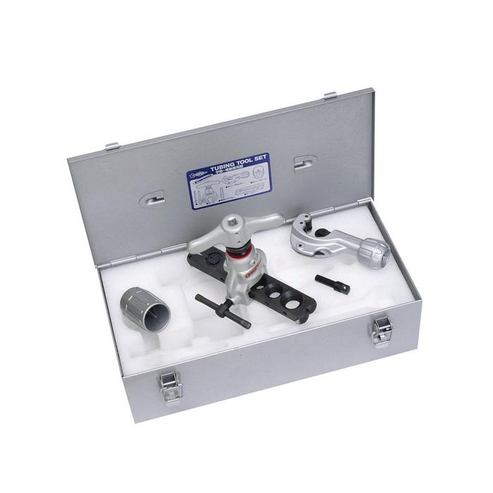 スーパーツール | チュービングツールセット 偏心式 手動・電動兼用型 新冷媒・新規格対応 [ TS456WDH ] | SUPERTOOL