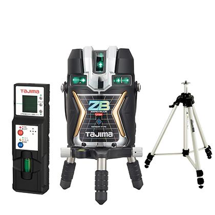 タジマ ブルーグリーンレーザー墨出器 [ ZEROBLS-KJCSET ] ZERO BLUEセンサ-リチウム-KJC 受光器・三脚セット