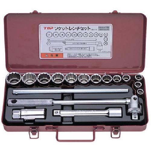 トップ工業 ソケットレンチセット(差込角12.7mm) [ SWS-413S ] 12.7(1/2