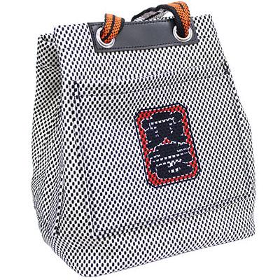寅壱 寅壱刺子道具袋 (小) [ 9800-930 ] 15.シロ | 作業着 作業服 バッグ