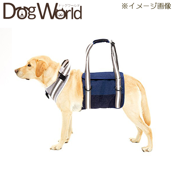 トンボ 歩行補助ハーネスLaLaWalk 大型犬用 トラッド S 【返品不可】