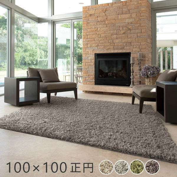 スミノエ ビッグサイズラグ スミトロンプレシャス 正円100×100cm