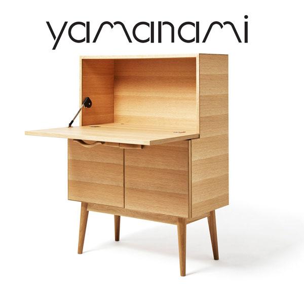 【送料無料】匠工芸 yamanami ライティングビューロー YD1 オーク【机 デスク 書斎 棚 日本製 木製 家具 ウッド】