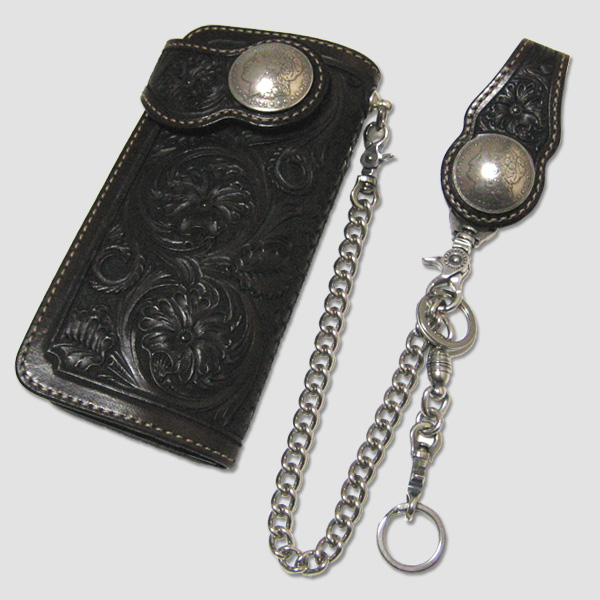 "ファニー FUNNY シェリダン・ウォレット with Chain ""FUNNY SHERIDAN WALLET CRAFT/SS 1$ MORGAN Concho"""