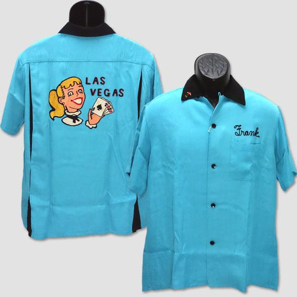 """キング・ルイ King Louie ボウリングシャツ """"LAS VEGAS"""" KL37833"""