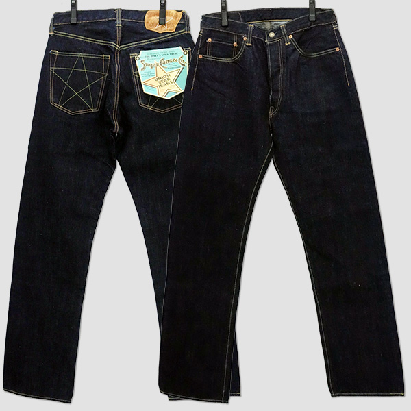 シュガーケーン SUGAR CANE UNION STAR JEANS SC40065-421A