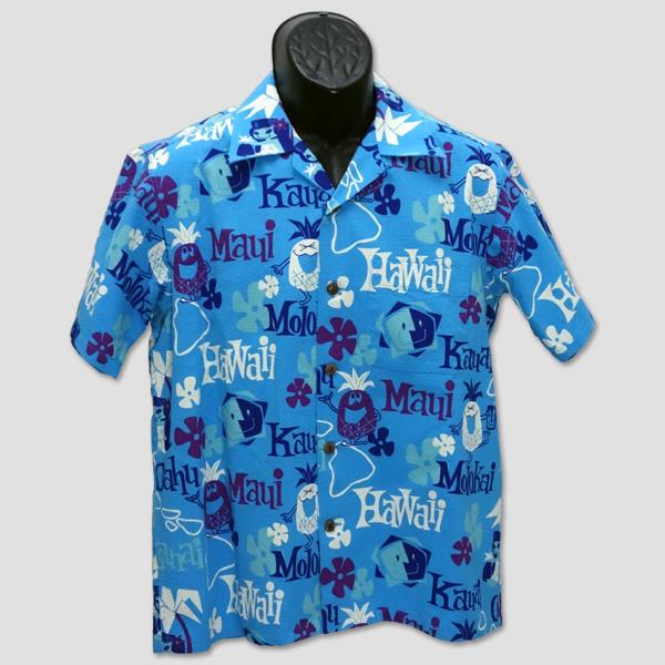 """サンサーフ SUN SURF 半袖綿オープンシャツ """"PINEAPPLE HEAVEN"""" SS37657"""