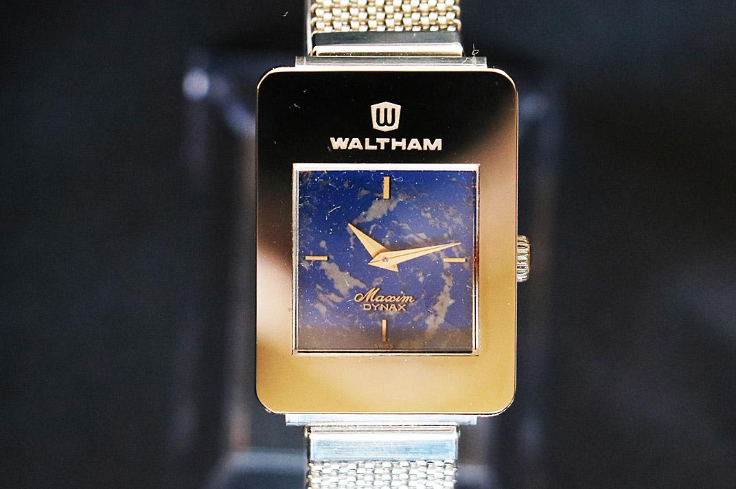 WALTHAM(ウォルサム)マキシムDYNAX ラピスラズリ 手巻き【中古】【お勧め商品】.06003