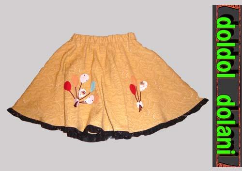 子供服スカート5才用