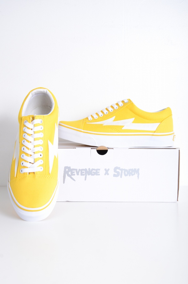 2c4417950 Japanese POP UP-limited low-frequency cut sneakers skating shoes yellow