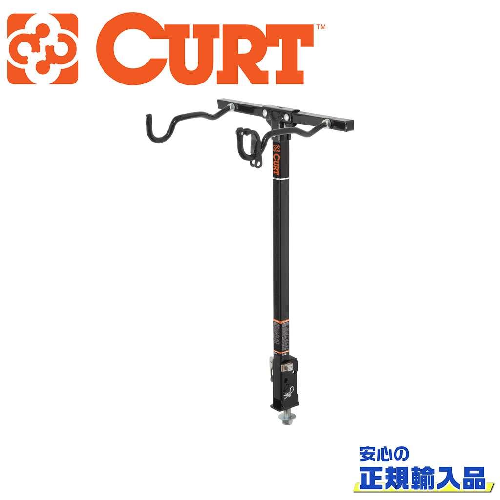 【CURT(カート)正規代理店】ボルトオン バイクラック 2台まで(最大31.78)汎用