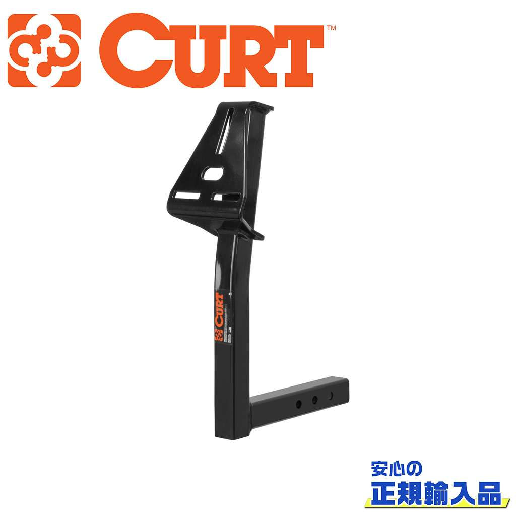 【CURT(カート)正規代理店】スペアタイヤマウント 2インチ角用汎用