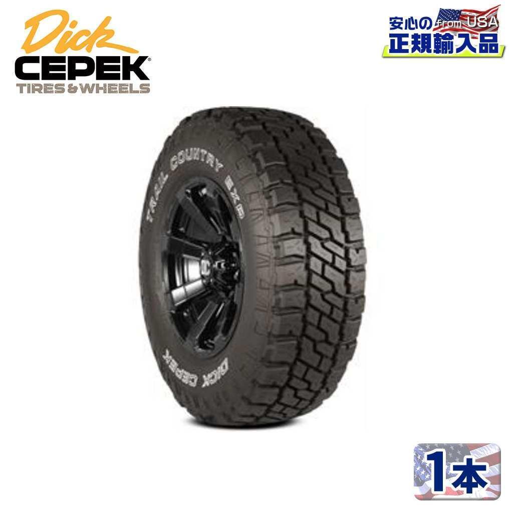 DICK CEPEK ディックシーペック 日本正規輸入総代理店 タイヤ1本TRAIL COUNTRY EXP トレイルカントリー EXP LT295 70R18 129 126Q ブラックレター ラジアル