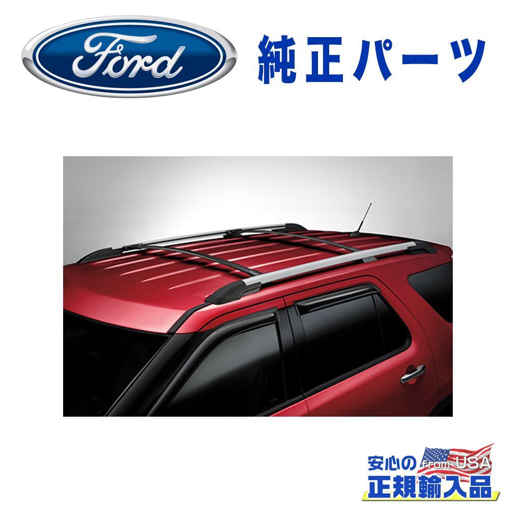 【Ford(フォード)USA正規品】純正ルーフレール用 クロスバー 2ピースFORD フォード エクスプローラー 2011年~2015年