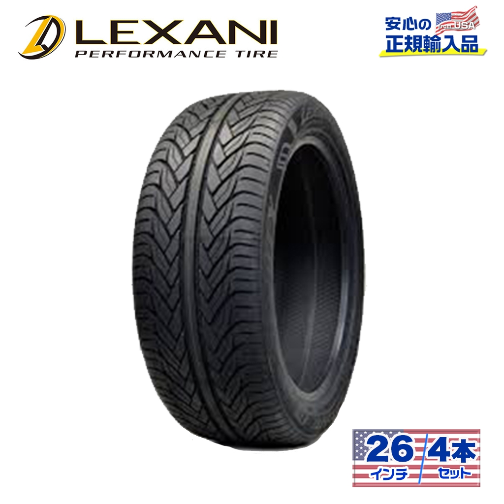 【LEXANI(レクサーニ)正規品】26インチタイヤ 4本LXーTHIRTY315/40R26ラジアル