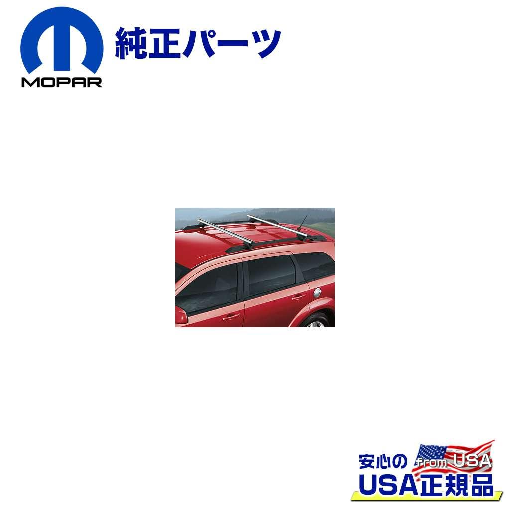 【Mopar (モパー) USA正規品】クロスバーTHULE製 ロック付きJEEP ジープ パトリオット 2007年~2017年