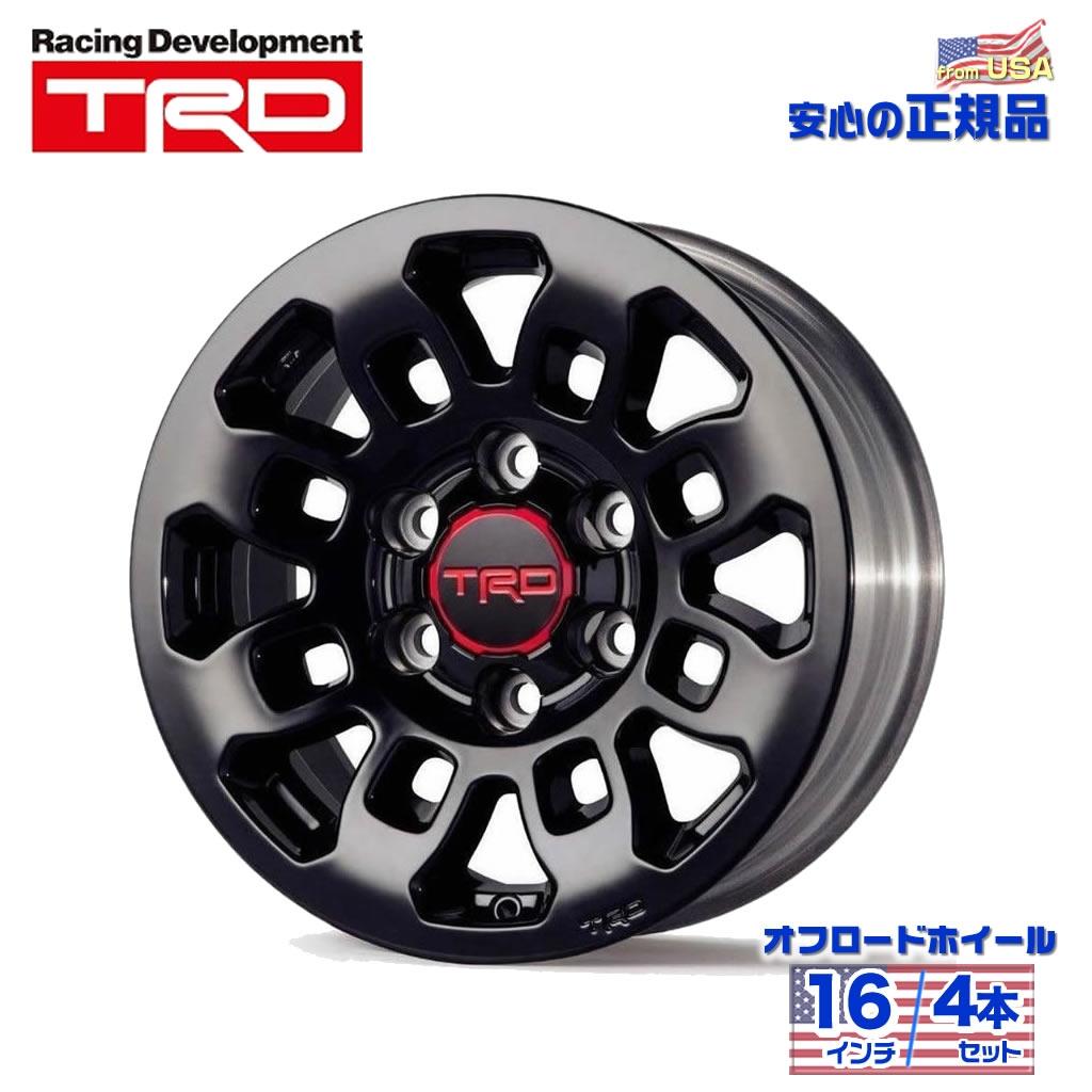 US TOYOTA 正規品 TRD16インチ ホイール 4本セットプロフェッショナルシリーズ FJクルーザー/タコマ