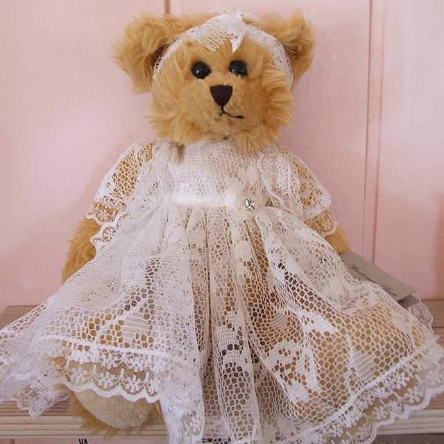 テディベア Anna 人形 ドール オーストラリア ベア ハンドメイド くま 購入 ウィンダミア ベアーズ プレゼント 保証 ぬいぐるみ 母の日