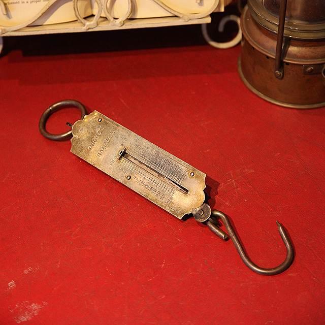 アンティーク 仏 高級品 フランス フック インテリア スプリングスケール はかり 古いはかり アウトレットセール 特集