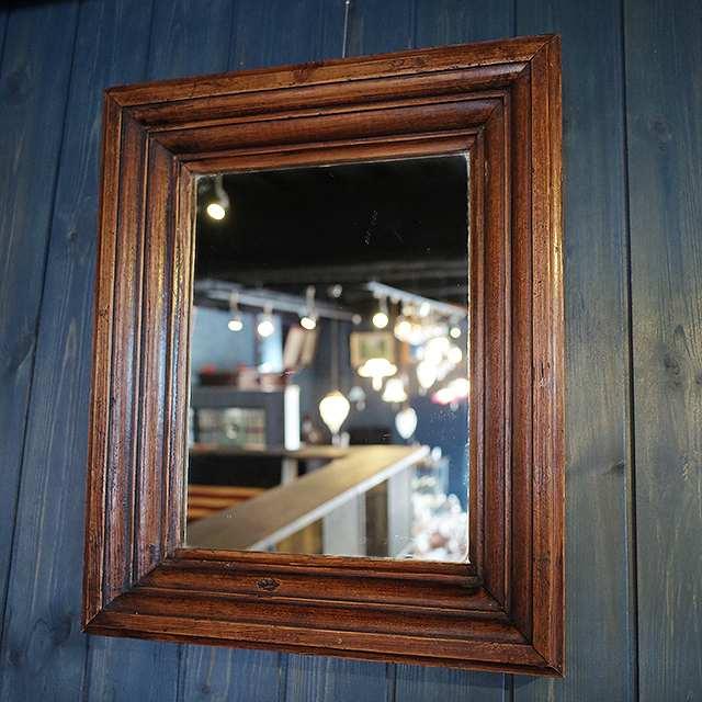 鏡 ミラー オーク 壁掛け シンプル イギリス 1930年代 超激得SALE リビング トイレ インテリア アンティーク 供え 玄関 洗面