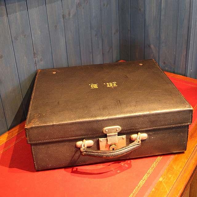 アンティーク トランク 代引き不可 旅行 カバン イギリス スーツケース レザー ディスプレイ 革 限定タイムセール 父の日 プレゼント