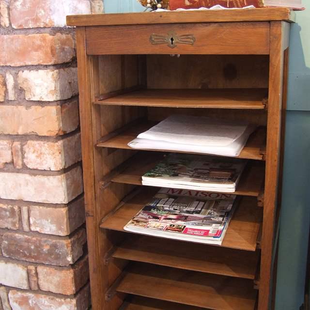 家具 キャビネット ファイル 収納 オーク イギリス アンティーク 書類入れ 棚 書斎 事務 引出し オフィス ファイリング