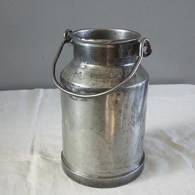 アンティーク ミルク缶 イギリス 缶 ディスプレイ フラワーベース 花器 鉄製 インテリア 母の日 プレゼント