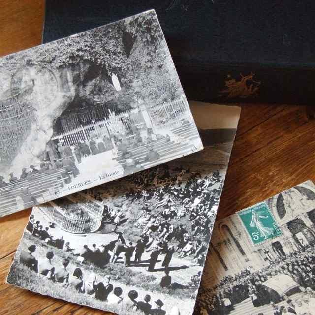 アンティーク アイテム勢ぞろい ポストカード 無料サンプルOK ハガキ 郵便 イギリス 絵葉書 手紙 イギリスアンティーク