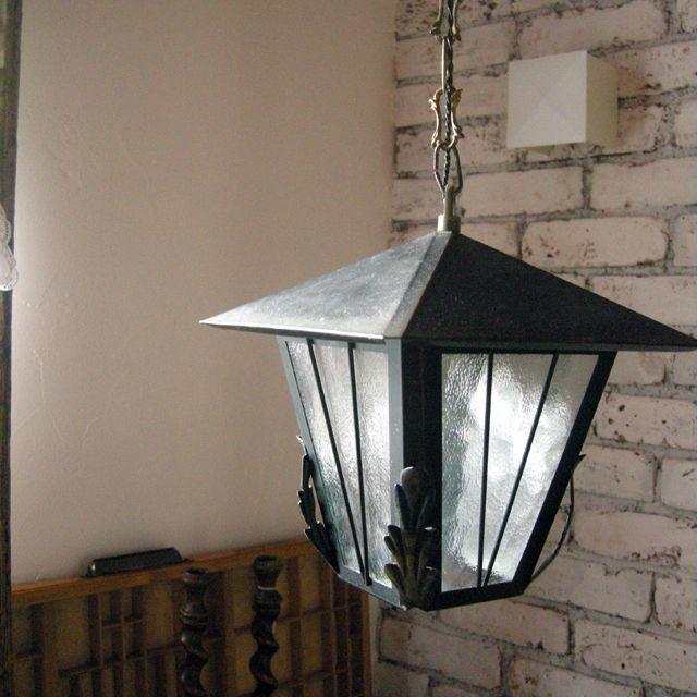 照明 ランタン ランプ ガラス イギリス 明かり アンティーク 玄関 門灯 外灯 ガレージ