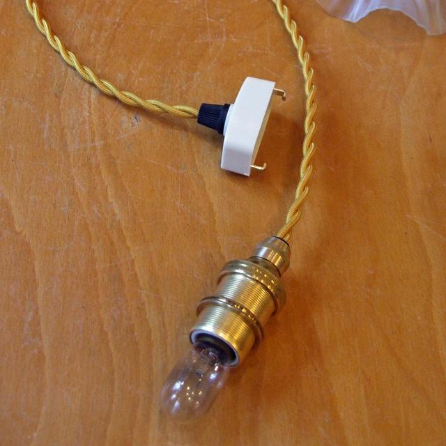 ランプシェード 日本式 セール特価品 コードセット 内ネジ式 照明 ランプ セット 電気 [再販ご予約限定送料無料] ソケット コード