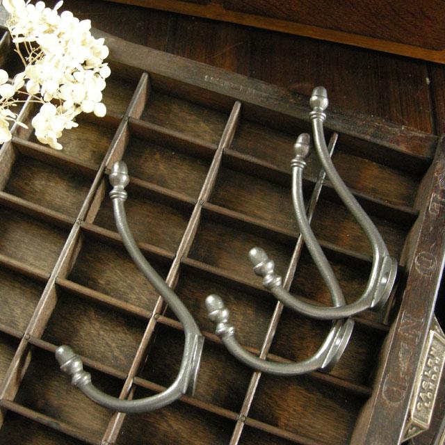 アンティーク フック 高い素材 コート 帽子 掛け 鉄 アイアン 洗面 トイレ 価格 玄関 イギリス 帽子掛け 壁掛け金具