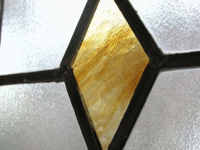 가구 유리 스테인드 그라스 창 채광 비춰 릉 다이아몬드 다이아몬드 영국 1930 년대