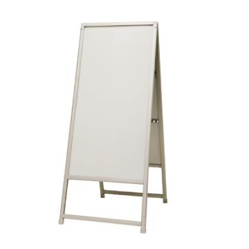 A型置き看板 屋外 ハオ両面 シート貼り付け用 60*120面サイズ 店舗用 業務用品 アルミ