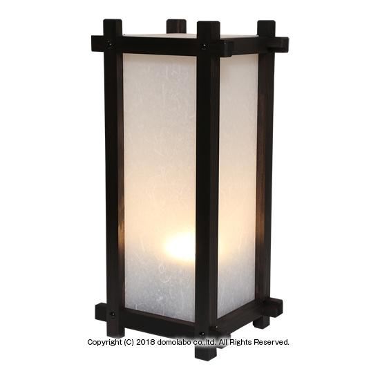 行灯 和風 木製 4面 中 文字込 TSUF25-4 店舗用看板 行燈 LEDライト 高級感