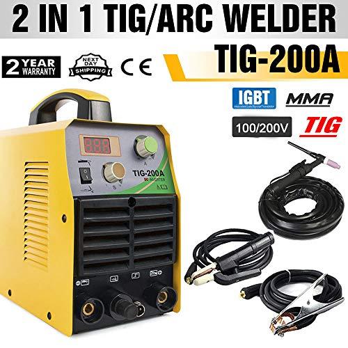 溶接機 アーク・TIG兼用溶接機 インバータ-溶接機 高品質溶接機 TIG-200A 単相 200v
