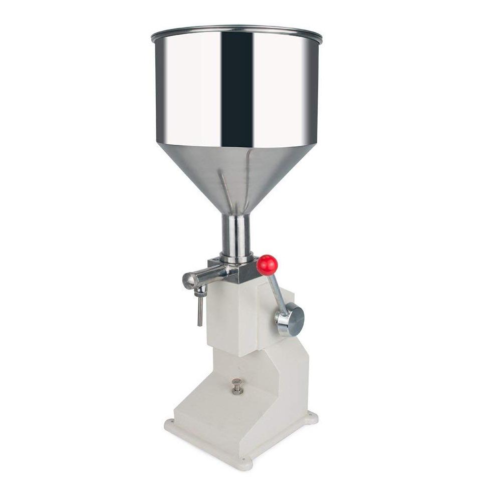 クリーム充填機 卓上型ハンドフィラー 手動液体充填機 5-50ml A03