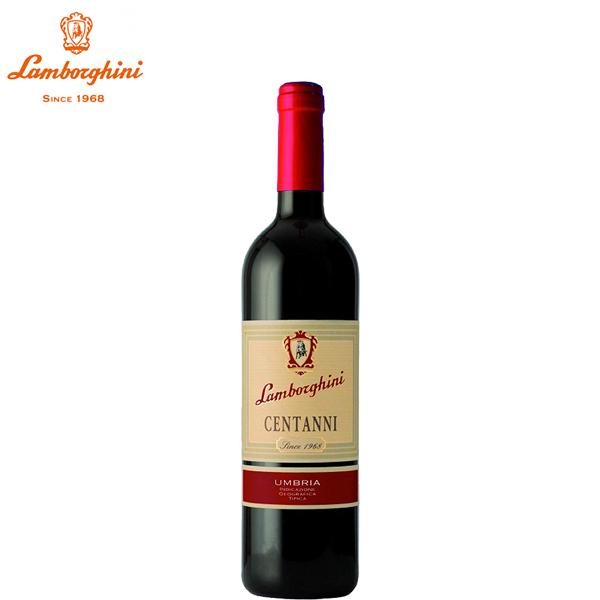 [送料無料]ランボルギーニ チェンタンニ ロッソ ウンブリア 750ml×1本[イタリア ウンブリア 赤ワイン ウンブリア産 伝統的 ブドウ品種 ブレンド ]