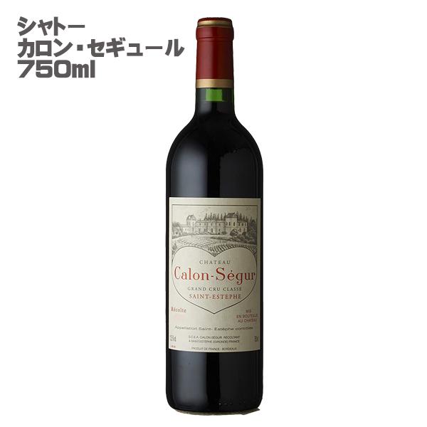 【ヴィンテージワイン】シャトー・カロン・セギュール[2008]年 格付第3級/赤/750ml