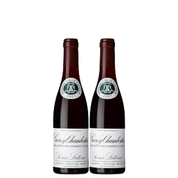 【送料無料】ルイ・ラトゥール ジュヴレ シャンベルタン 375ml×2本 ※数量限定【フランス ブルゴーニュ 赤ワイン フルボディ ACジュヴレ・シャンベルタン ハーフボトル】