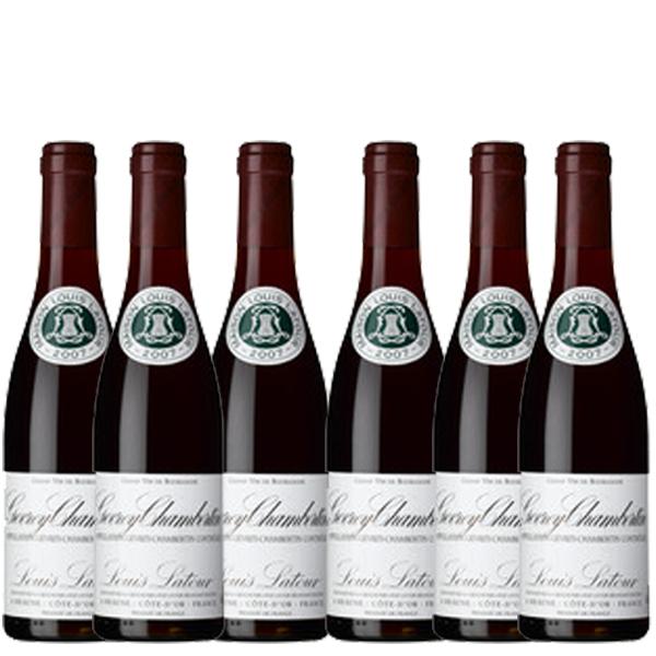 【送料無料】ルイ・ラトゥール ジュヴレ シャンベルタン 375ml×6本 ※数量限定【フランス ブルゴーニュ 赤ワイン フルボディ ACジュヴレ・シャンベルタン ハーフボトル】